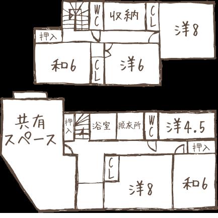 部屋マップ
